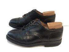 Alden 926 Black Calfskin Wing Tip Blucher Oxford Shoes Size  8 E UK  9 US
