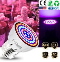 E27 60leds Full Spectrum Plant Grow Light Bulb Plant tent Hydroponics 110V-240V