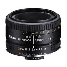 NEW Nikon 50mm f/1.8D 1.8 AF Nikkor Autofocus Lens 50 mm