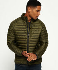 New Mens Superdry Core Down Jacket Khaki