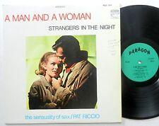 PAT RICCIO LP A Man and a Woman PARAGON Lounge JAZZ Saxophone