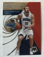 2019-20 Panini Mosaic International Men of Mastery #10 Hedo Turkoglu Insert