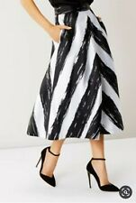 Coast Chevrone Stripe Skirt Size 18
