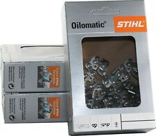 🚨 2 Chaines STIHL tronçonneuse MSE 170 / MS 180 50 Maillons