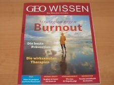 """GEO WISSEN Nr. 63 """"Strategie gegen Burnout"""""""