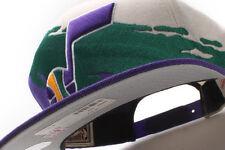 Utah Jazz Mitchell & Ness (NG77Z MTC 5JAZZ) Paint Snapback Hat