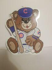 Chicago Cubs 1998 Wincraft Sports Hanging Wall Sign Baseball MLB Vintage Bear