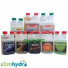 Canna Coco 1 Litre A+B Complete Range Additive Nutrient Bundle kit Hydroponics