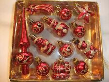 Konvolut Christbaumschmuck Baumbehang Christbaumkugel Weihnachtsschmuck Formkuge