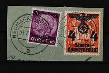 B2 Generalgouvernement 18 PF II in MiF mit 11 Briefstück