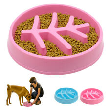 Large Slow Feeder Dog Bowl Small Anti Bloat No Gulp Choke Food Dish Eat Puzzle