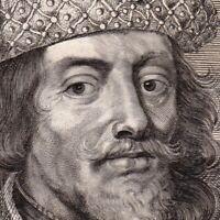 Portrait XVIIIe Guillaume III De Hainaut Willem III Van Holland Willem De Goede