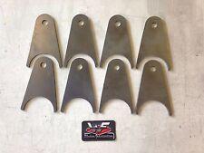 "4 Link Axle Tabs - Set of 8 - 4"" Axle - Airbags Brackets Custom Mounting"