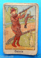 figurines cromos figurine umoristiche anni 30 40 v.a.v. vav caccia hunters hunt