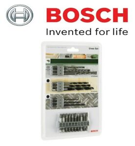 BOSCH 19-Piece Accessory Set (Use With: UNEO Cordless Drill Hammer (2609256989)