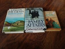 Lot of 2 Catherine Gaskin hb and 1 pb,  A Falcon for a Queen, I Know My Love, Fa