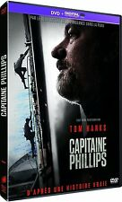 DVD + Copie UV  //   CAPITAINE PHILLIPS   //   Tom Hanks  /  NEUF cellophané