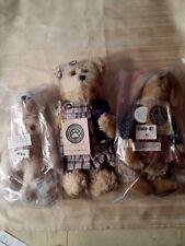 3 New Plush Boyds Bears stuffed animals Rachel Bearlove Betsie Jodibear Teddy B