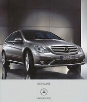 2222MB Mercedes R-Klasse Prospekt 2007 5/07 deutsche Ausgabe brochure broschyr
