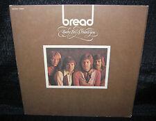 BREAD Baby I'm A Want You (1972 U.S. Gatefold Cover LP w/Lyric Inner Sleeve)