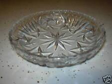Vintage Depression Glass Condiments/Candy Bowl