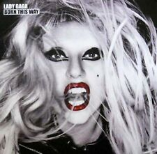 LADY GAGA WINDOW CLING POSTER (Z7)