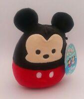 """Squishmallows Disney Mickey Mouse 5"""" Exclusive Spring 2021 NWT Kellytoy Plush"""