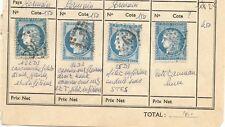 beau lot n60 4 timbres avec variétés  lot n25