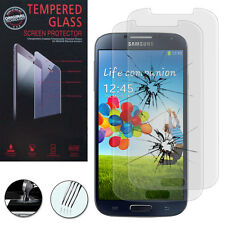 2X Safety Glass for Samsung Galaxy S4 i9500/i9505 Genuine Glass Screen Protector