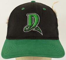 D Logo Dayton Dragons Black Baseball Hat Cap with Kerchief Tie Strap