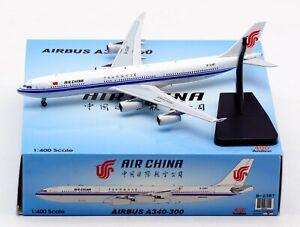 Aviation 1:400 Air China Plane Airbus A340-300 Diecast Aircraft Jet Model B-2387
