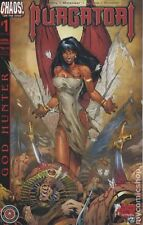 Purgatori God Hunter #1, Chastity Lust For Life Preview #0, Chaos, 2 book lot