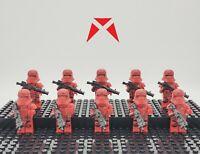 Star Wars Sith Jet Troopers Custom Set 10 Minifigures Lot - USA SELLER