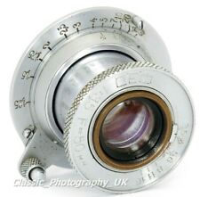 FED 1:3.5 F=50mm LEICA L39 LTM Screw fit Lens Made in USSR for Leica M7 M9 M10
