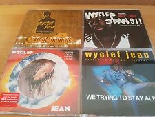 Wyclef Jean - 4 Maxis -  Guantanamera Promo - 911 -Wish you were here - selten