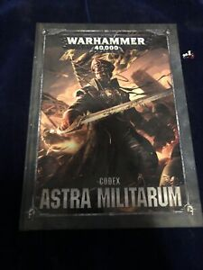 2017 Warhammer 40K Codex Astra Militarum Book