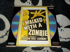 I Walked With A Zombie Laserdisc LD James Ellison Frances Dee Free Ship $30