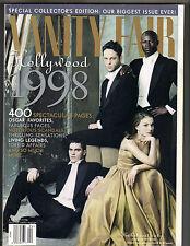 JOAQUIN PHOENIX NATALIE PORTMAN Vanity Fair Magazine 4/98 HOLLYWOOD LOADED