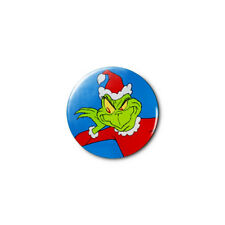 Grinch Christmas (b) 1.25in Pins Buttons Badge *BUY 2, GET 1 FREE*