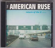 American Ruse (UK) - Return of the X.... CD SWEET Zeros SHOTGLASS Killers Punk