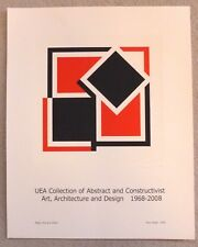 Mary Webb ARTIST SIGNED ABSTRACT AND CONSTRUCTIVIST ART POSTER 2008