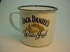 "Jack Daniels ""Winter Jack"" Enamel Advertising Tin Mug Brand New Free UK P&P"
