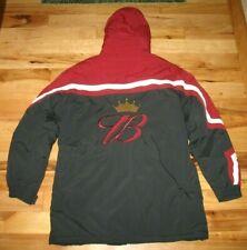 Chase Authentics Dale Earnhardt Jr Budweiser Winter Ski Coat Mens Medium EUC