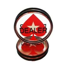 PokerStars Acrylic EPT Dealer Button - BRAND NEW!