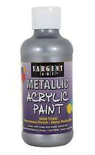 Sargent Art Metallic Acrylic Paint - Silver - 8 oz