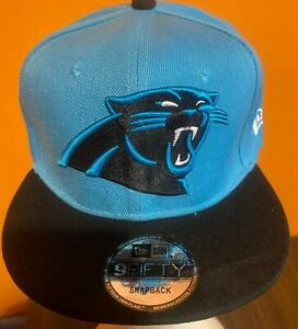 New Era Carolina Panthers 9FIFTY Snapback Hat One Size Fits All