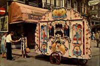 Amsterdam Holland Niederlande Drehorgel Pipo Draaiorgel alte color Ansichtskarte