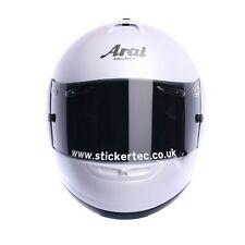 Personalised helmet visor sticker, decal, social, sponsor, www, racing, custom.