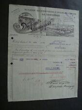 HUILERIE RAFFINERIE LA LOUVIERE HUILE  ACHETEUR CHARBONNAGES BOIS DU LUC 1913