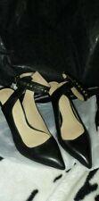 ZARA Black Lace Up Caged Leather Sandals  Heels 2211/201Eur 36/ US 6/ UK 3